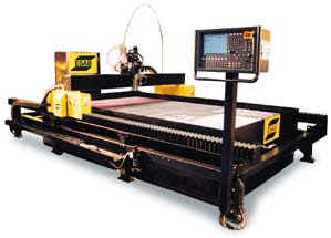 Water Jet 6' x 12' Cutting Table